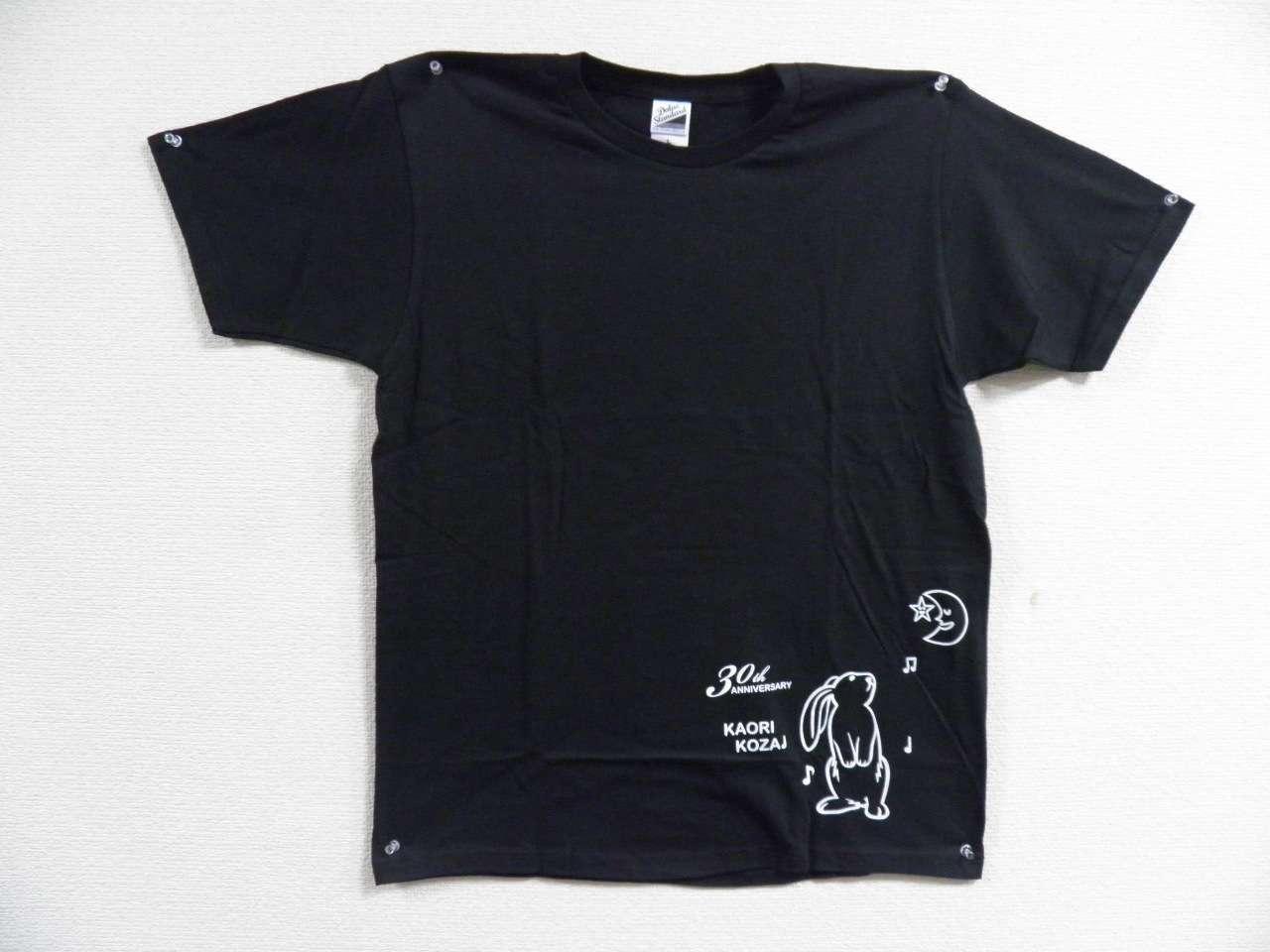 30thアニバーサリーTシャツ(黒・白)_1