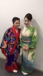 夏川りみさんとツーショット